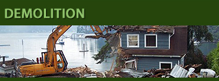 Tacoma, Puyallup, Seattle, Gig Harbor Demolition
