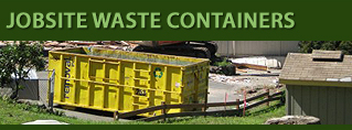 Tacoma, Puyallup, Seattle, Gig Harbor Jobsite Waste Containers